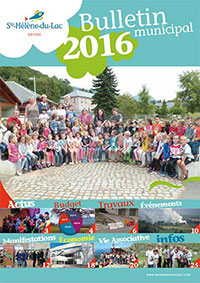 couv buuletin 2016 ste helene lac